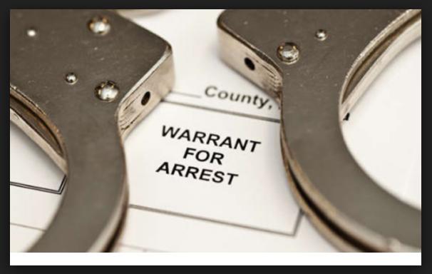 Orden de arresto en Las Vegas, Nevada