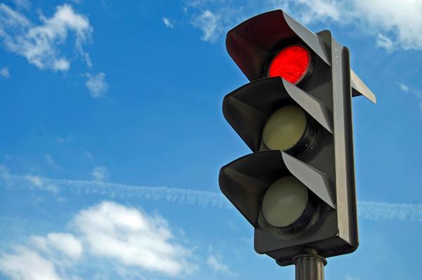 Running a Red Light Traffic Ticket in Las Vegas