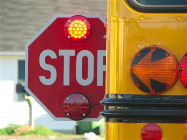 Failing to stop for a school bus in Nevada